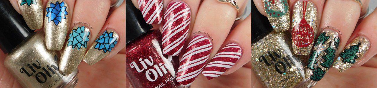 Christmas decorative nails